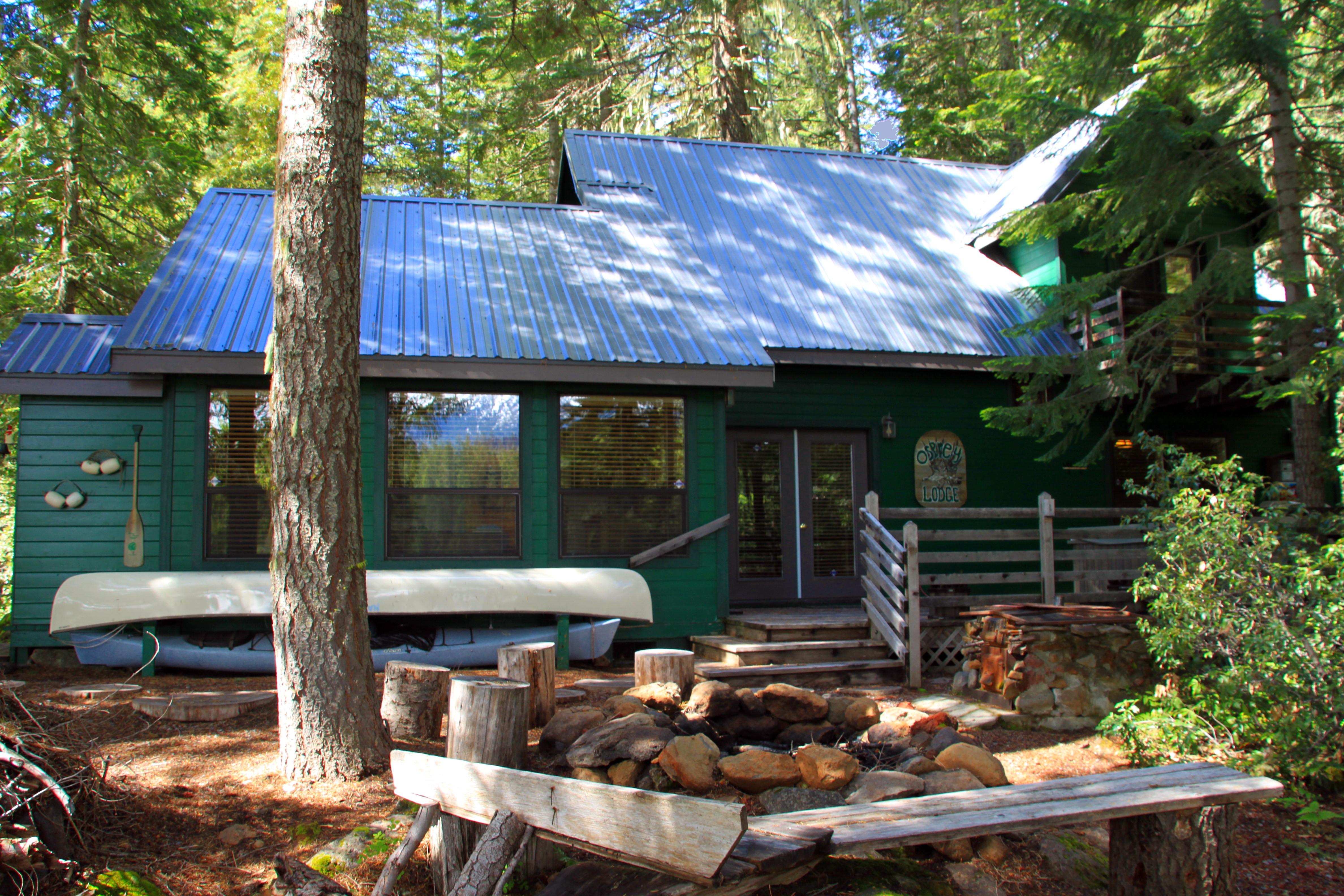 Fish lake oregon cabin for sale h4 landline real estate llc for Fish lake cabin