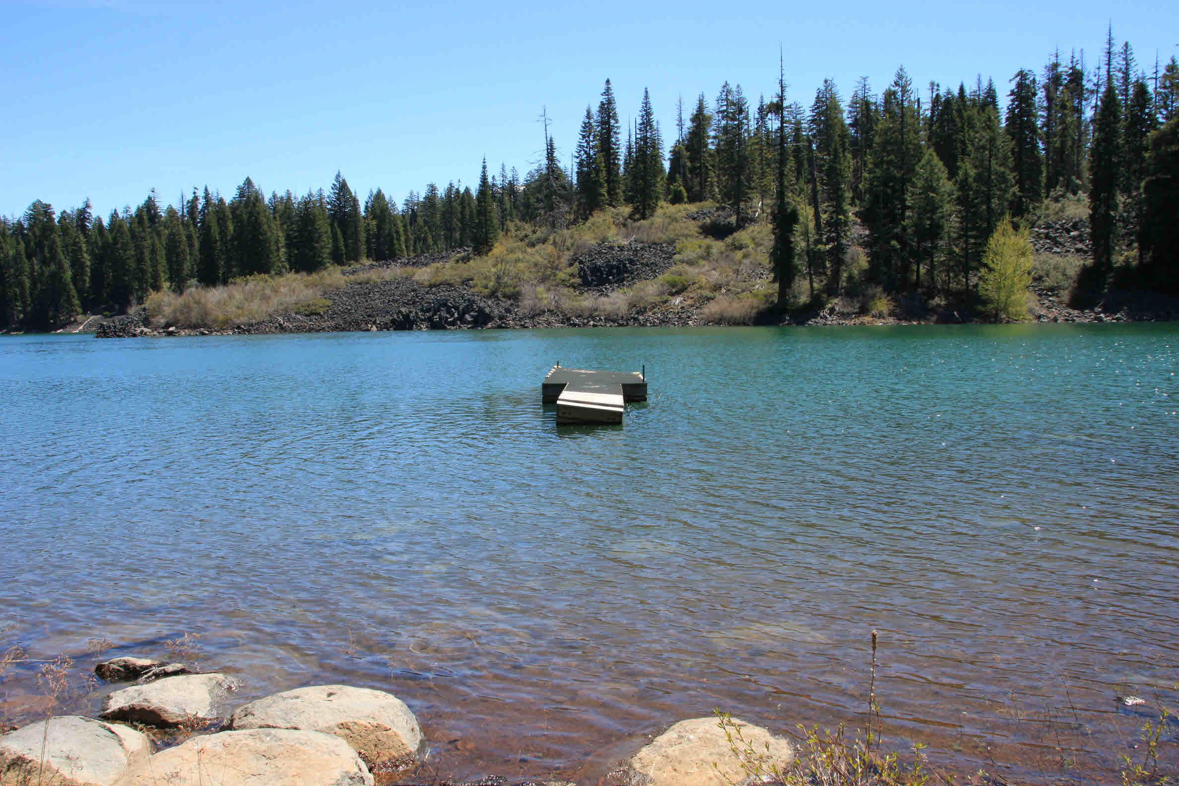 Dock in fish lake landline real estate llc for Fish lake oregon